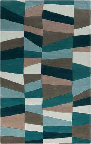 Cosmopolitan COS 9187 Blue Green Rug