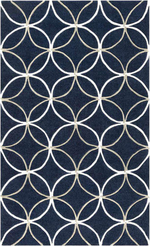 Cosmopolitan COS 9190 Blue Neutral Rug
