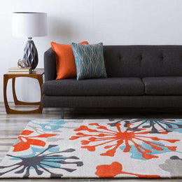 Cosmopolitan COS 9197 Blue Orange Rug