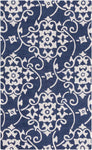 Cosmopolitan COS 9201 Blue Neutral Rug