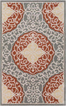 Cosmopolitan COS 9303 Brown, Gray Rug