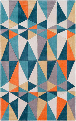 Cosmopolitan COS 9305 Blue, Neutral Rug