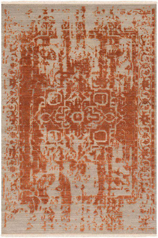 Courtney COU 1000 Orange, Khaki Rug