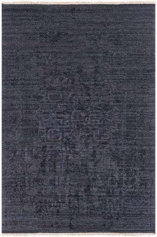 Courtney COU 1001 Black Rug