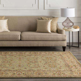 Crowne CRN 6001 Brown Neutral Rug