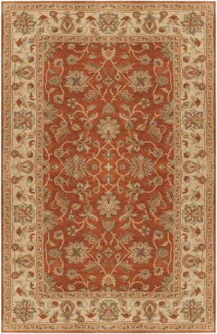 Crowne CRN 6002 Brown Neutral Rug