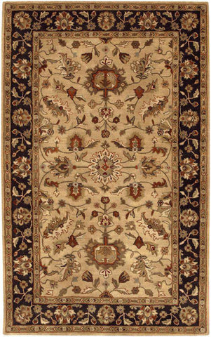 Crowne CRN 6007 Brown Black Rug