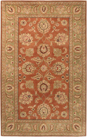 Crowne CRN 6019 Brown Brown Rug