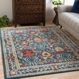 Crafty CRT 2308 Blue, Neutral Rug