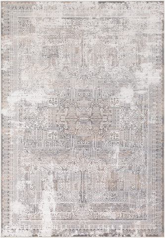 Couture By Artistic Weavers CTU-2307 Pale Blue/Camel Rug
