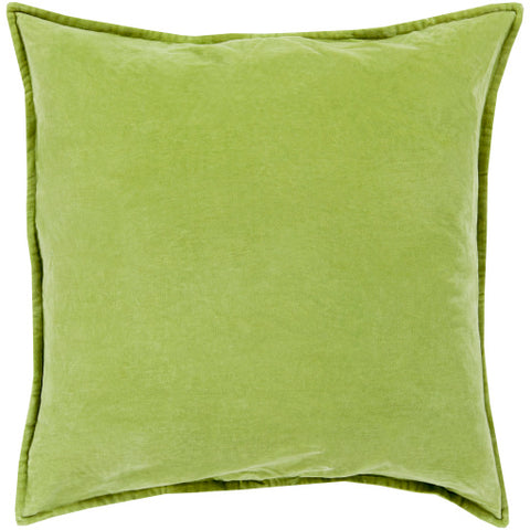Cotton Velvet CV-001 Grass Green Pillow