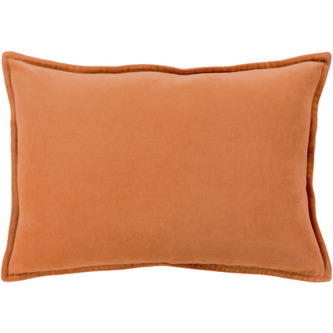 Cotton Velvet CV-002 Burnt Orange Pillow