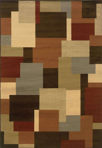 Darcy 2065D Brown Beige Rug