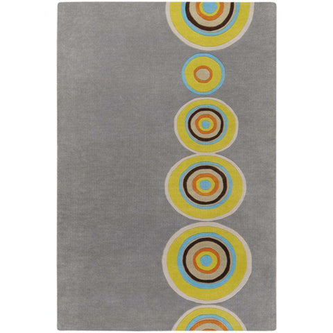 Dazzle DAZ 6537 Gray Green Rug