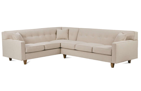Levi K520 Custom Sectional Group (Wood Leg)
