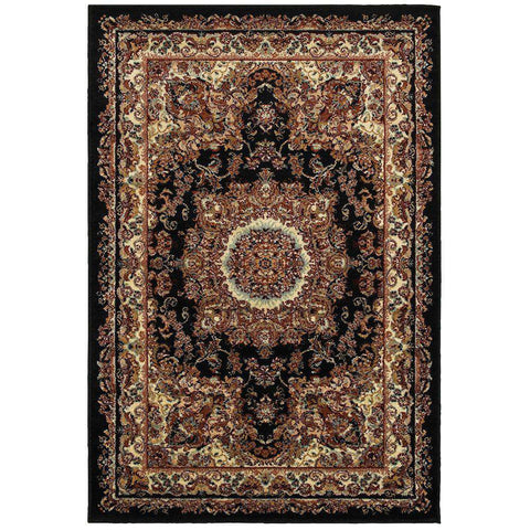 Grace LR81113 Black / Cream Rug