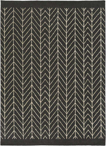 Dasher DSH 5000 Black Neutral Rug