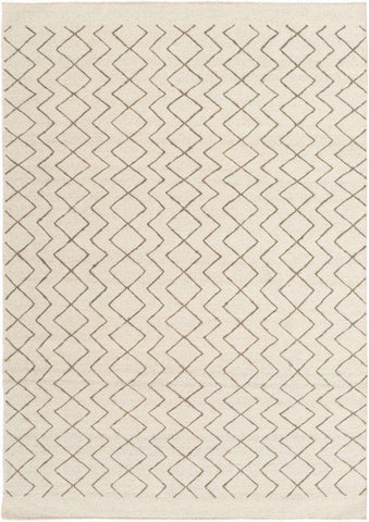 Dasher DSH 5001 Brown Neutral Rug