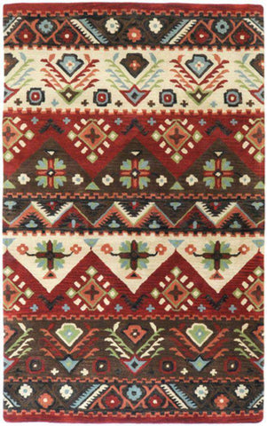 Dream DST 381 Red Brown Rug