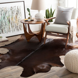 Duke DUK-1005 Dark Brown Rug
