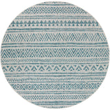 Eagean EAG 2307 Blue, Black Rug
