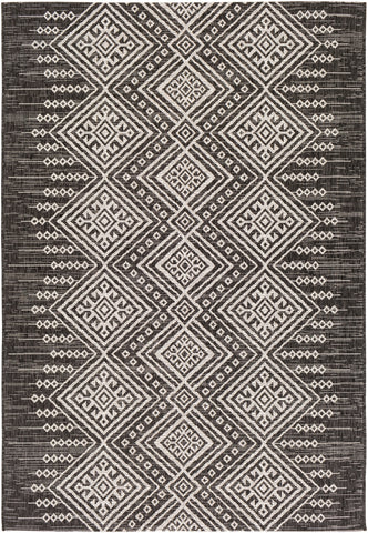 Eagean EAG-2338 Black Rug Rectangle 2 x 2.92