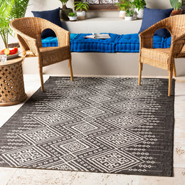 Eagean EAG-2338 Black Rug Rectangle 5.25 x 7.58