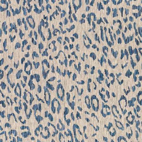 Eagean  EAG-2353 Bright Blue/Medium Gray Rug