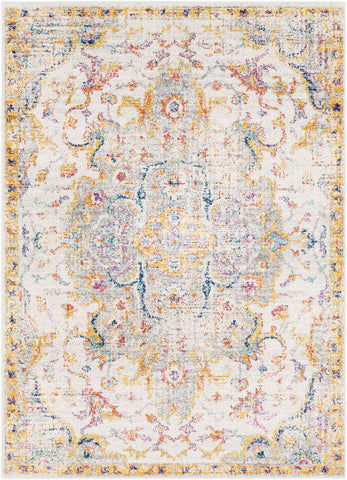 Elaziz ELZ 2315 Yellow, Gray Rug