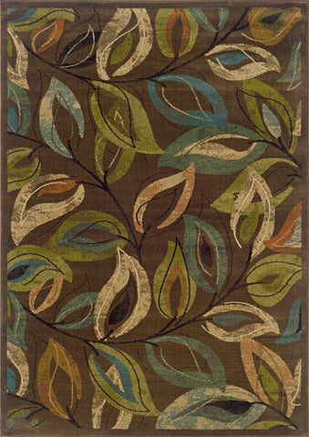 Emerson 1999A Brown/ Green Rug