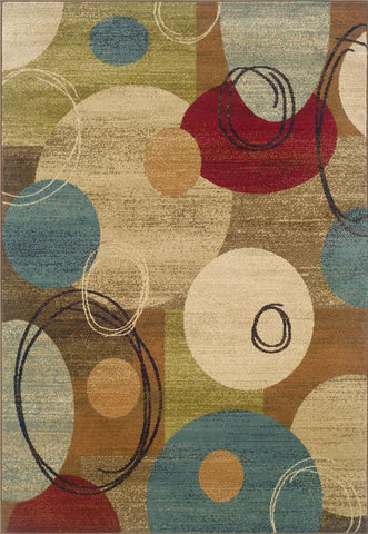 Emerson 2279A Gold Brown Rug