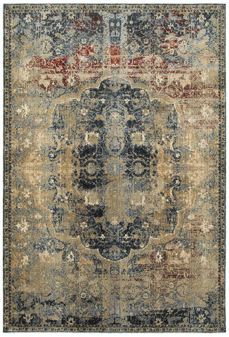 Empire 4449h Gold/ Blue Rug