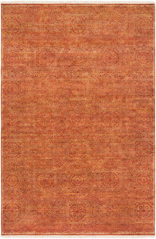 Empress EMS 7007 Orange Brown Rug