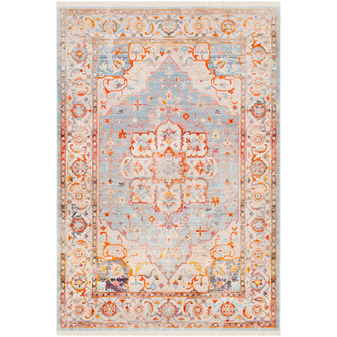 Ephesians EPC 2303 Orange, Yellow Rug