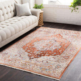 Ephesians EPC 2304 Orange, Pink Rug