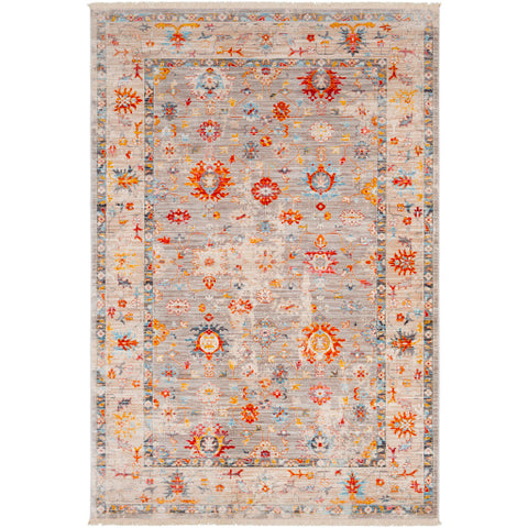 Ephesians EPC 2307 Yellow, Orange Rug