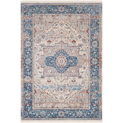 Ephesians EPC 2312 Blue, Neutral Rug
