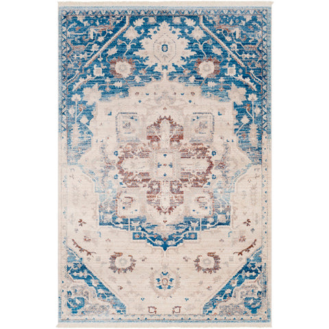 Ephesians EPC 2315 Blue, Neutral Rug