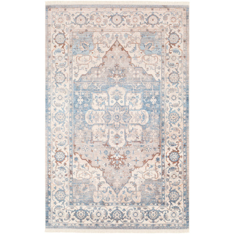 Ephesians EPC 2317 Blue, Neutral Rug