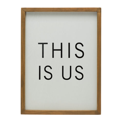 "Bits & Bobs Df4509 ""This Is Us"" Framed Art"
