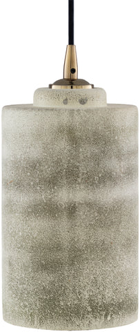 Glebe  GBE-001 White/Medium Gray Ceiling Lighting