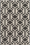 Hilda HDA 2389 Black, White Rug