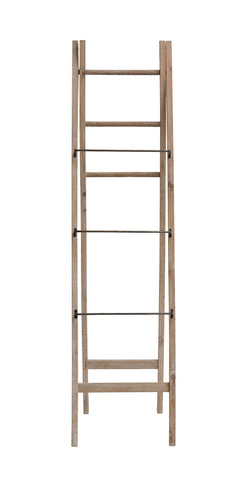 Backyard Farmer Df2708 Decorative A-Frame Fir Wood Ladder Accent Furniture