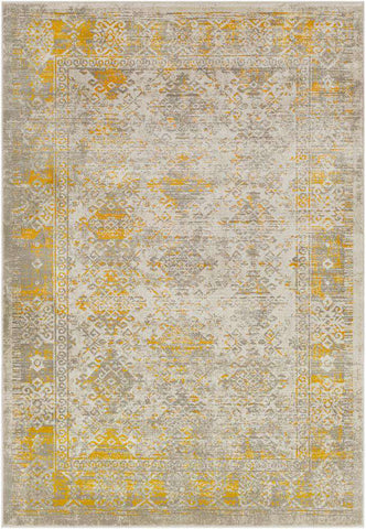 Jax JAX 5049 Yellow Brown Rug