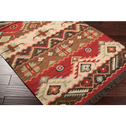 Jewel Tone JT 8 Neutral Red Rug