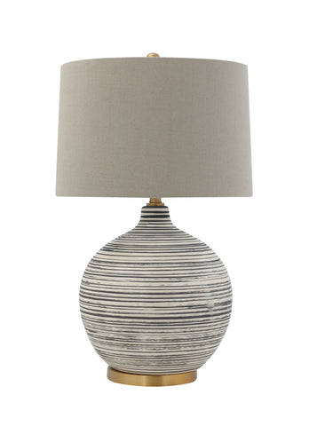 Collected Notions Df0860 Cream Desk Lamp
