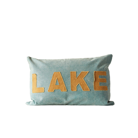 Shoreline Da8006 Green Pillow