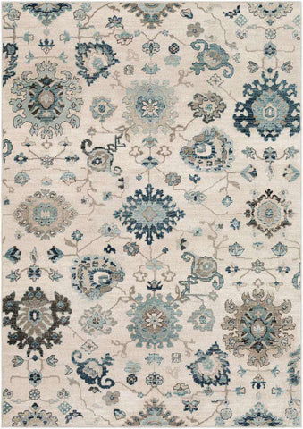 Mesopotamia MEP-2307 Medium Gray Rug