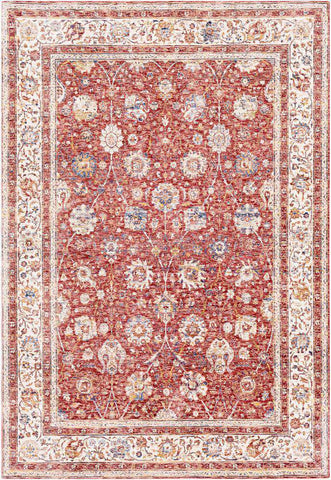 Mahal MHL 2300 Pink, Red Rug