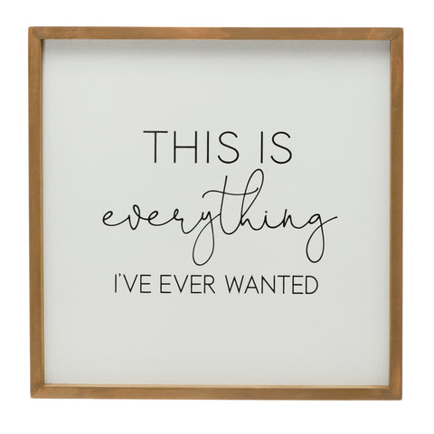"Bits & Bobs Df4508 ""This Is Everything…"" Framed Art"